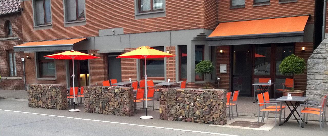 Pizza Maison terrasse
